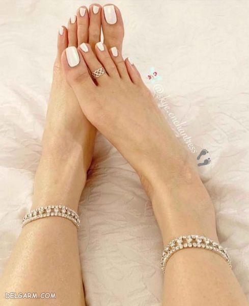 دیزاین ناخن پا جدید ۲۰۱۹-۹۸