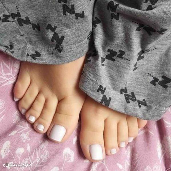 مدل کاشت ناخن پا جدید ۲۰۱۹-۹۸