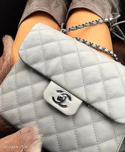 مدل های کیف چرم زنانه مجلسی