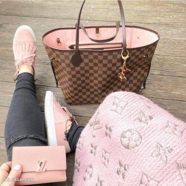 کیف و کفش مجلسی دخترانه ست