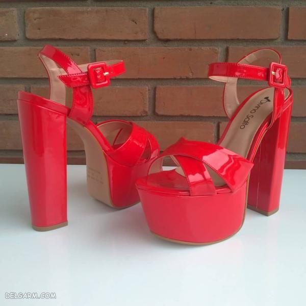کفش پاشنه بلند مجلسی شیک
