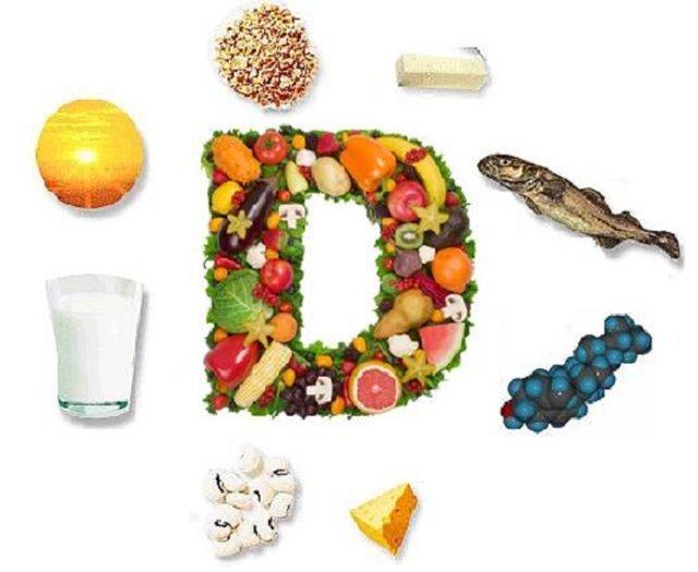 مواد غذایی حاوی ویتامین دی