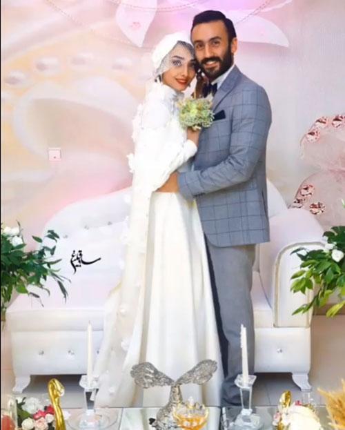 تصاویر جشن عروسی پسر فاطمه گودرزی با بازیگر معروف