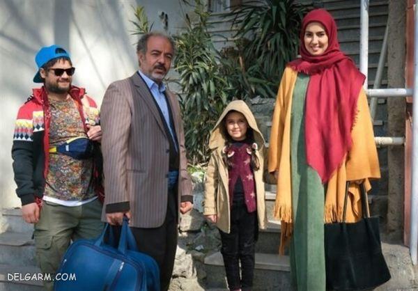 عکس های جدید سریال نوروزی نون.خ
