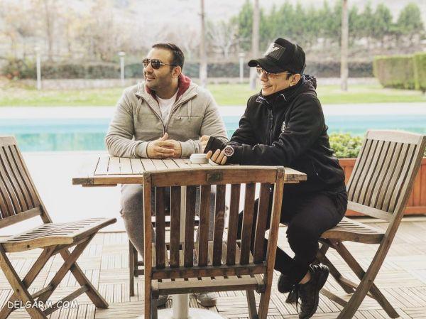 بیوگرافی و عکس های محسن ابراهیم زاده و همسرش