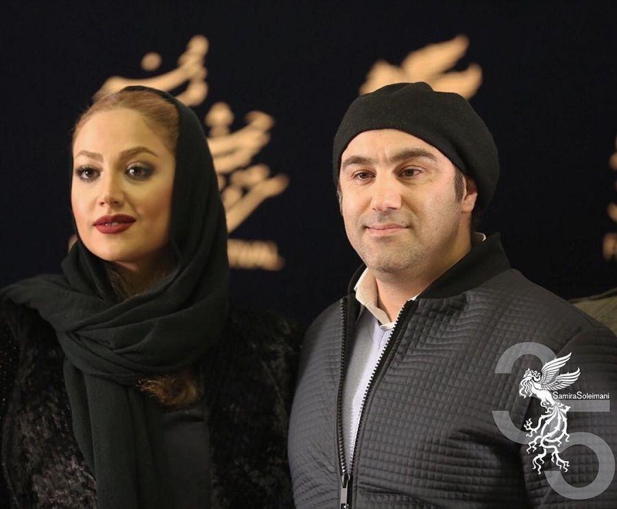 محسن تنابنده و همسرش در جشنواره فجر