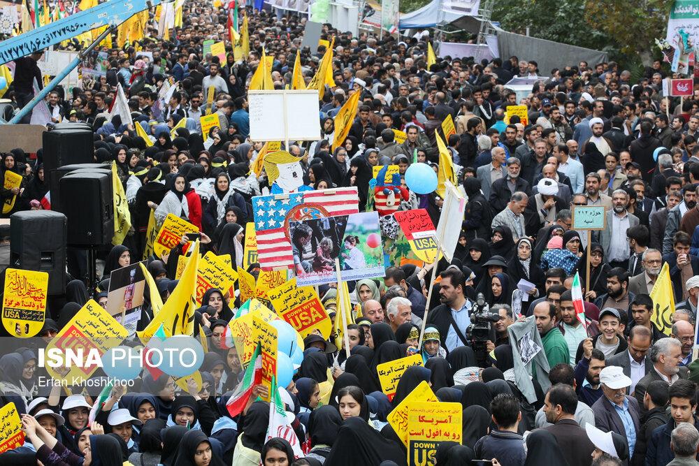 راهپیمایی روز دانش آموز ۱۳۹۸