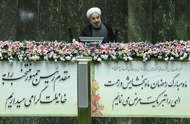 روحانی اعضای کابینه را به مجلس معرفی کرد