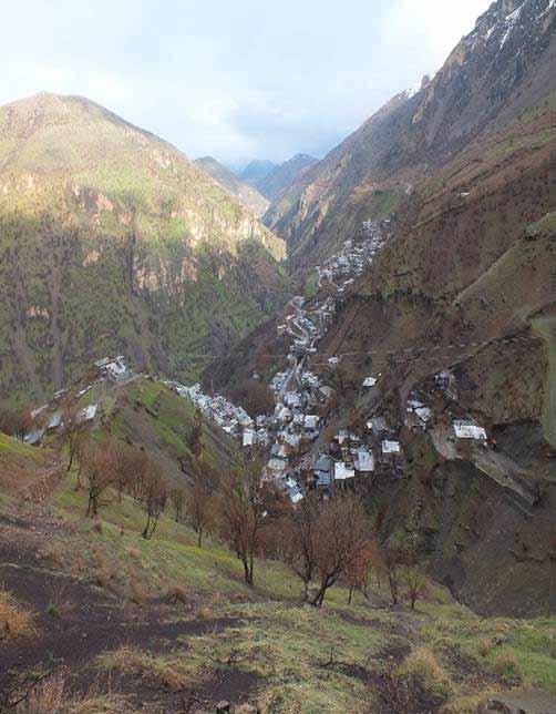 آشنایی با روستای دشه - کرمانشاه