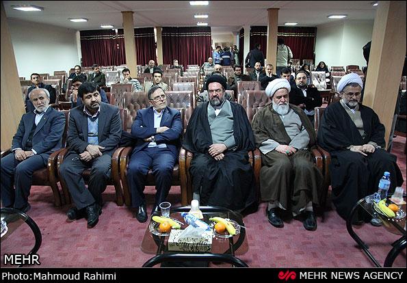 مراسم  تکریم حجت الاسلام موسویان