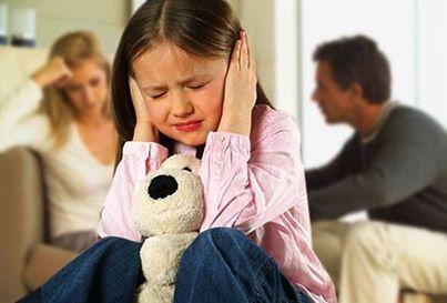 تاثیر جر و بحث والدین بر رشد مغزی کودکان