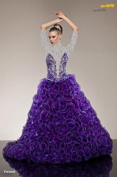 شیک و جدیدترین مدل لباس نامزدی