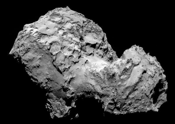 رُزِتا روی ستارهی دنبالهدار فرود آمد
