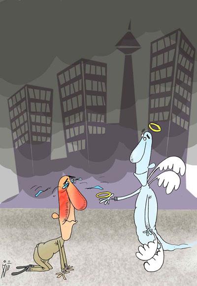 ,کاریکاتور آلودگی هوا, آلودگی هوا, عکس های خنده دار,کاریکاتور و تصاویر طنز