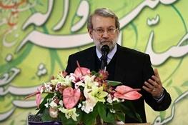لاریجانی: از محل صندوق توسعه ملی به کشاورزان وام با بهره پایین پرداخت شود -  داعش باعث وهن اسلام است