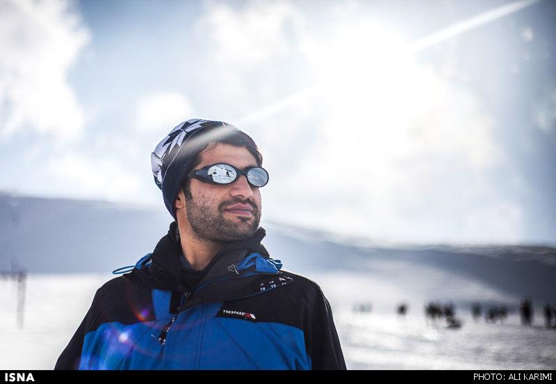 پیست اسکی شازند در استان مرکزی