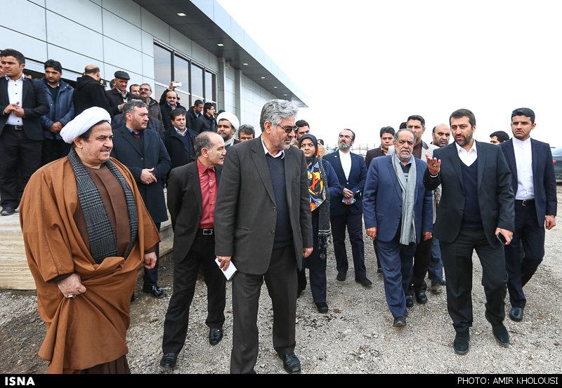 پرواز آزمایشی هواپیما در فرودگاه منطقه آزاد ماکو - آذربایجان غربی