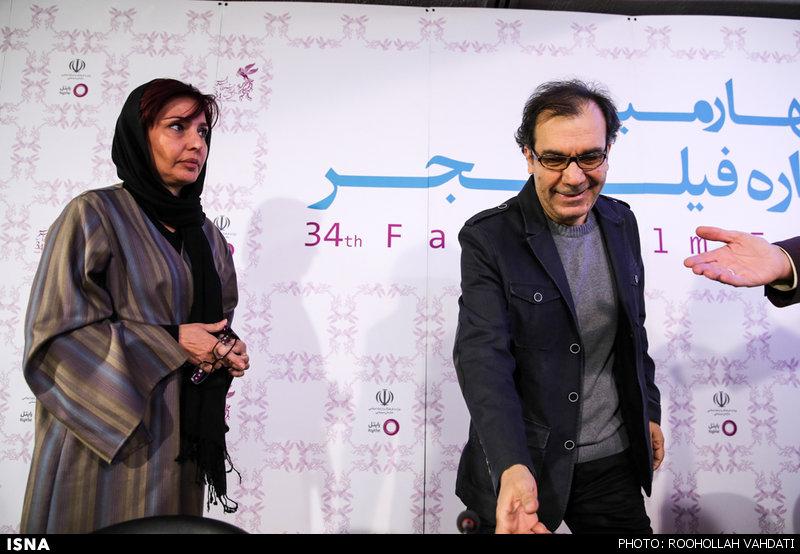 نشست خبری فیلمهای روز اول جشنواره فیلم فجر