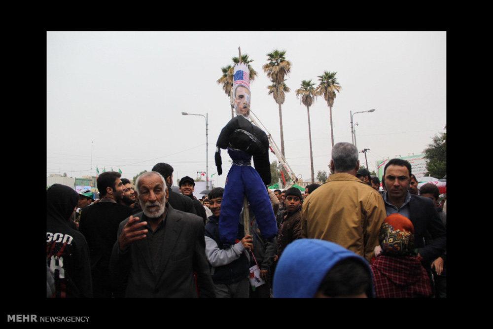 راهپیمایی یوم الله۲۲ بهمن در اهواز