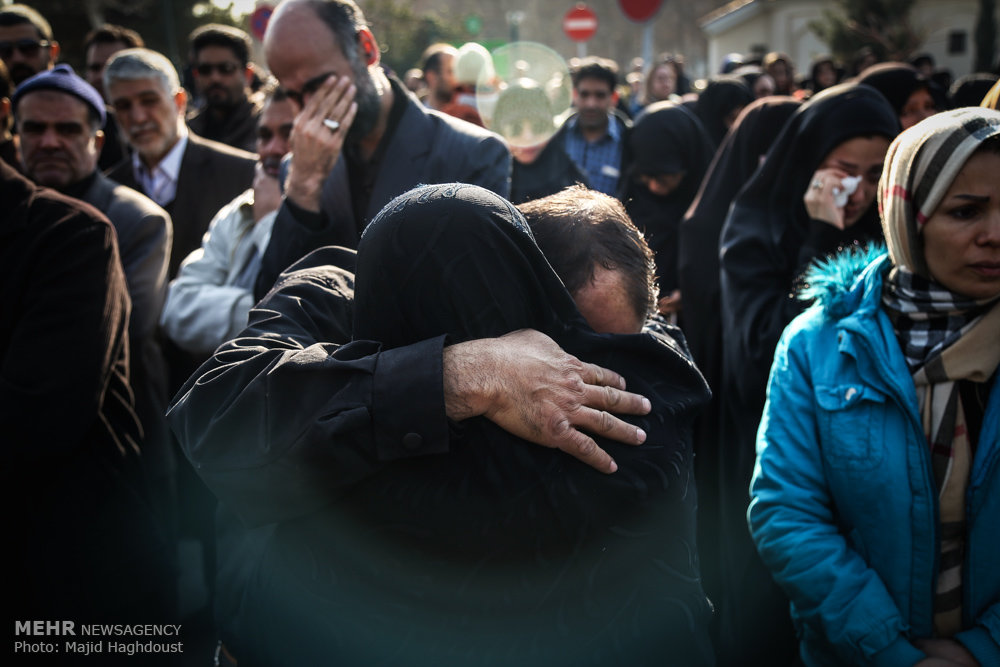 تشییع مدافع حرم شهید تقی ارغوانی