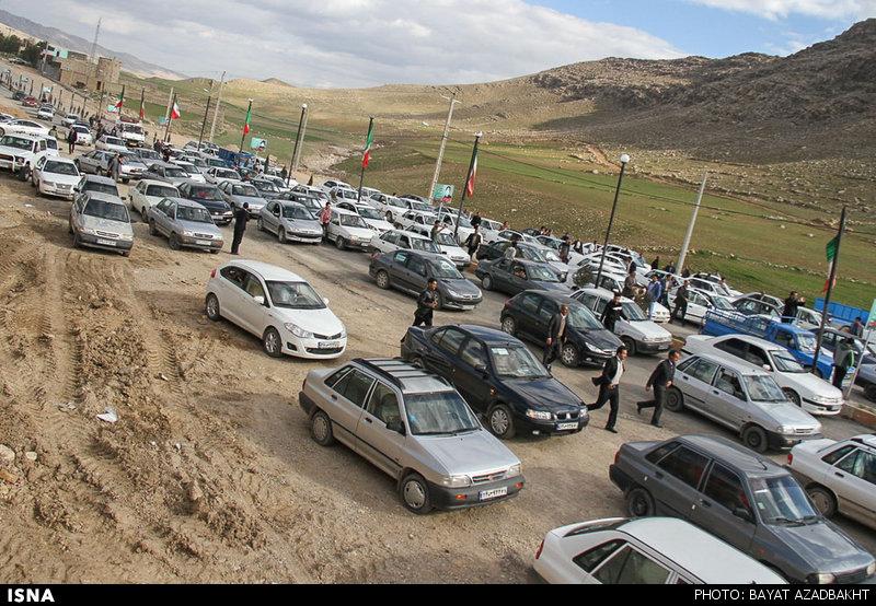 شور و حال مردم کوهدشت در ایام انتخابات - لرستان