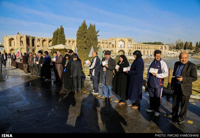 انتخابات هفت اسفند - اصفهان - سنندج