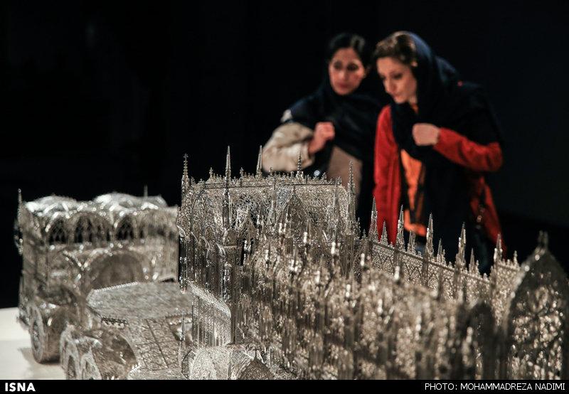 افتتاح نمایشگاه آثار   ویم دلووی   در موزه هنرهای معاصر تهران