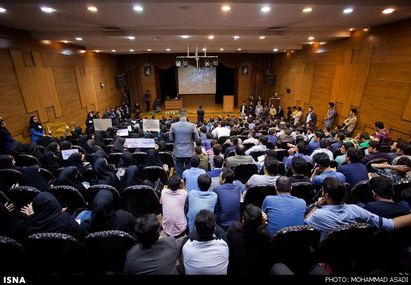 سخنرانی علی مطهری در دانشگاه اراک