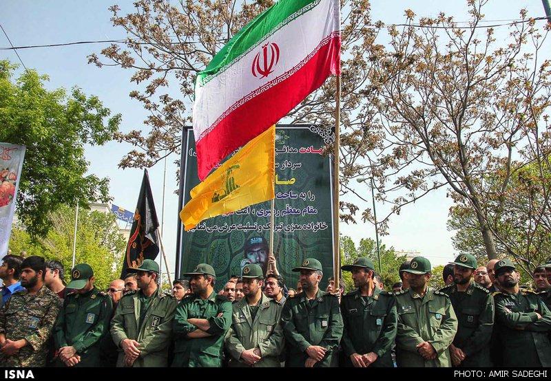 تشییع پیکر شهید مدافع حرم در تبریز