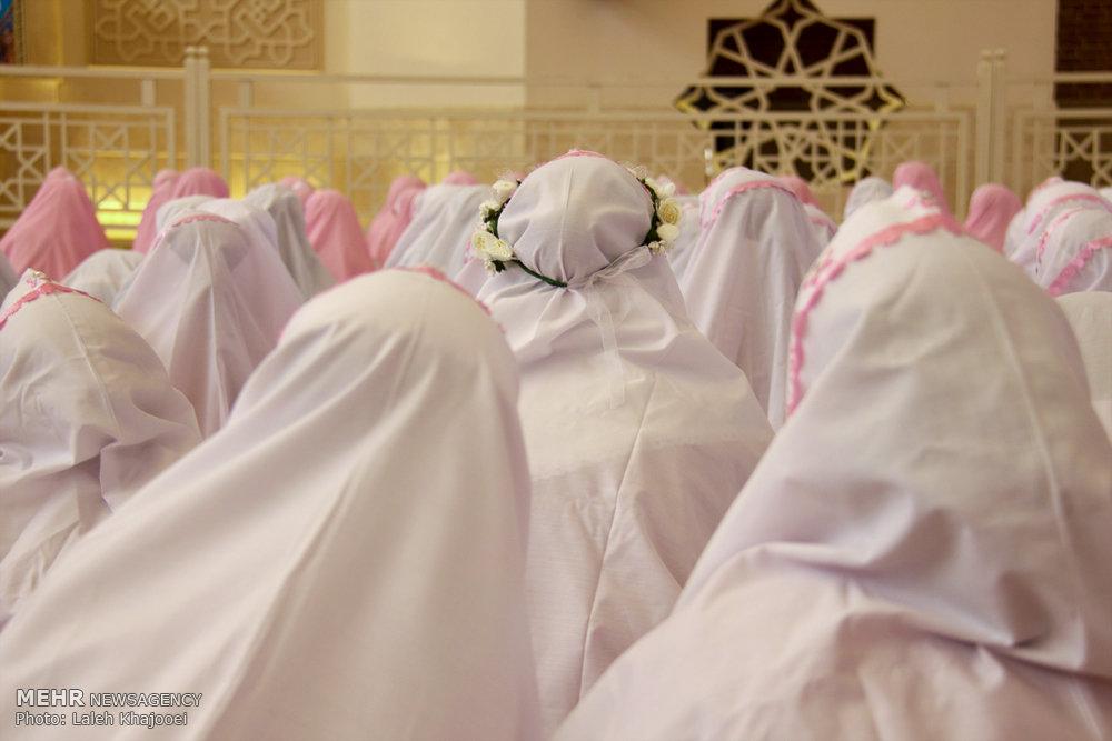 مراسم جشن تکلیف دختران