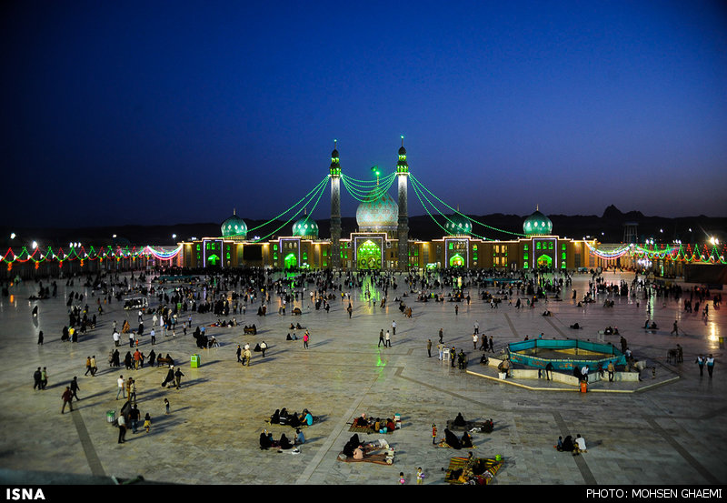 حال و هوای مسجد جمکران در آستانه نیمه شعبان