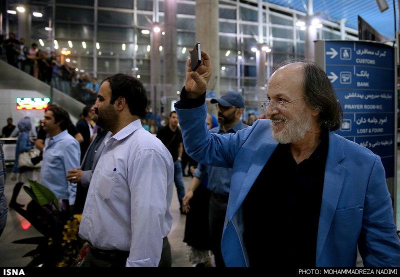استقبال مردم از برگزیدگان ایرانی جشنواره کن 2016