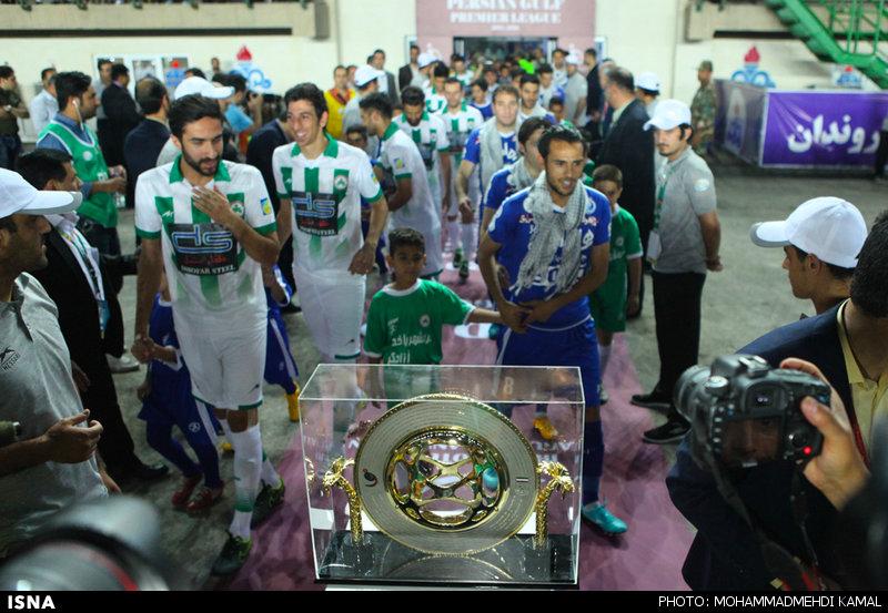 فینال جام حذفی فوتبال بین تیمهای استقلال تهران و ذوب آهن اصفهان