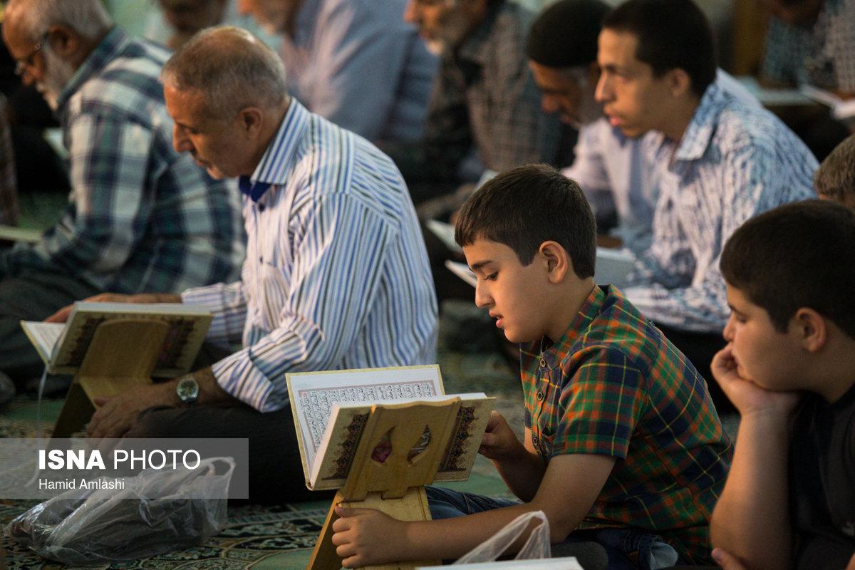 ترتیلخوانی قرآن در حرم عبدالعظیم(ع)