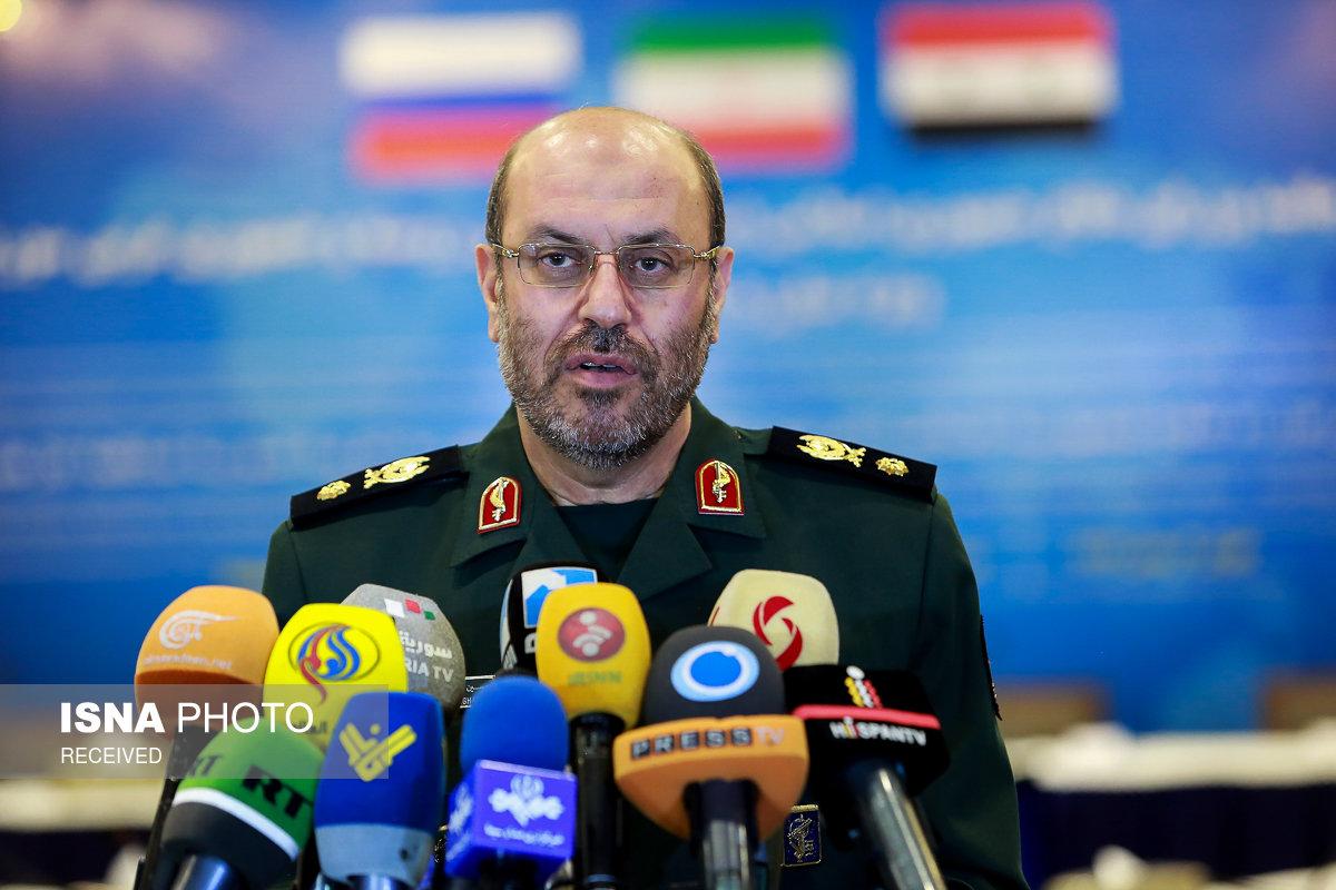 نشست سه جانبه وزراي دفاع ايران، روسيه و سوريه