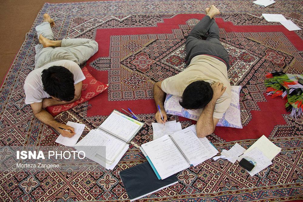 حال و هوای دانشجویان در فصل امتحانات