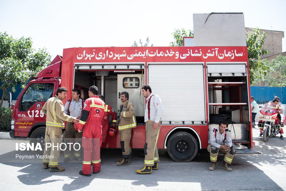 محل انفجار شدید صبح امروز در شهران