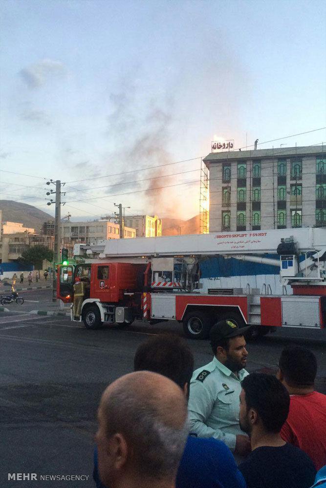 انفجارخط لوله گاز در غرب پایتخت