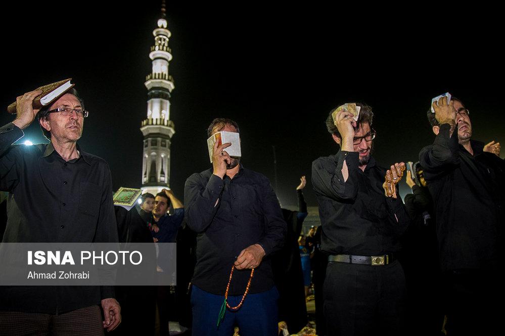 شب بیست و یکم ماه مبارک رمضان - قم مسجد جمکران