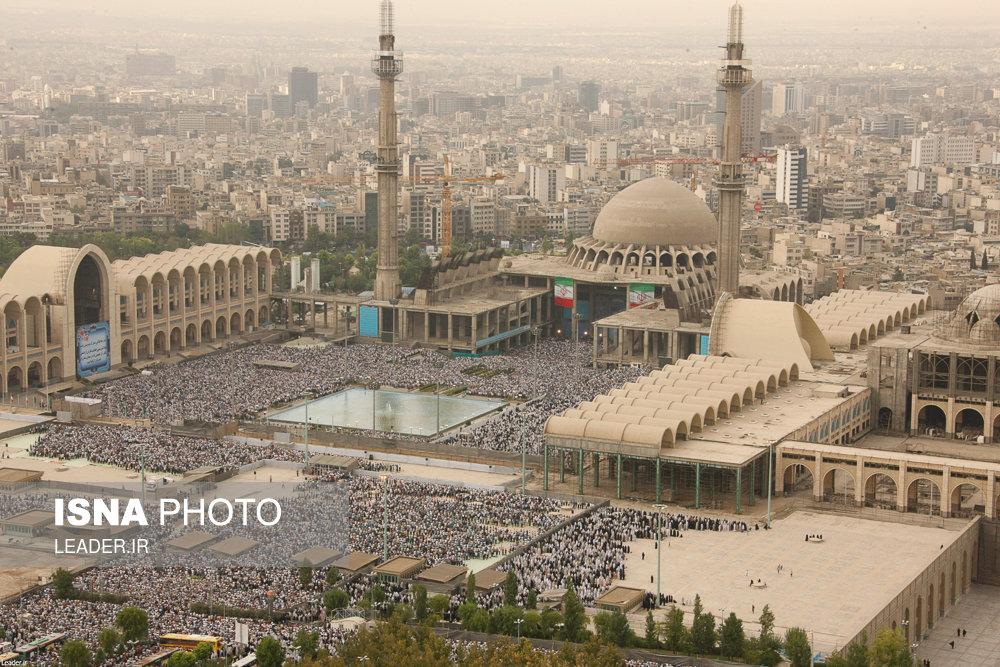 اقامه نماز عید سعید فطر به امامت رهبر معظم انقلاب اسلامی