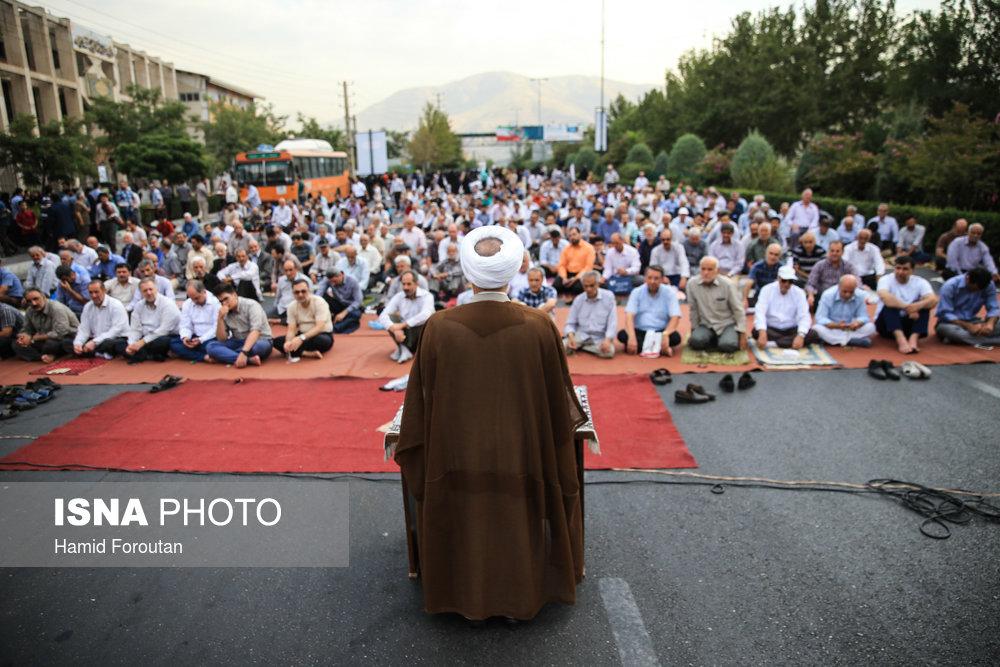 منتخب تصاویر نماز عید فطر در تهران
