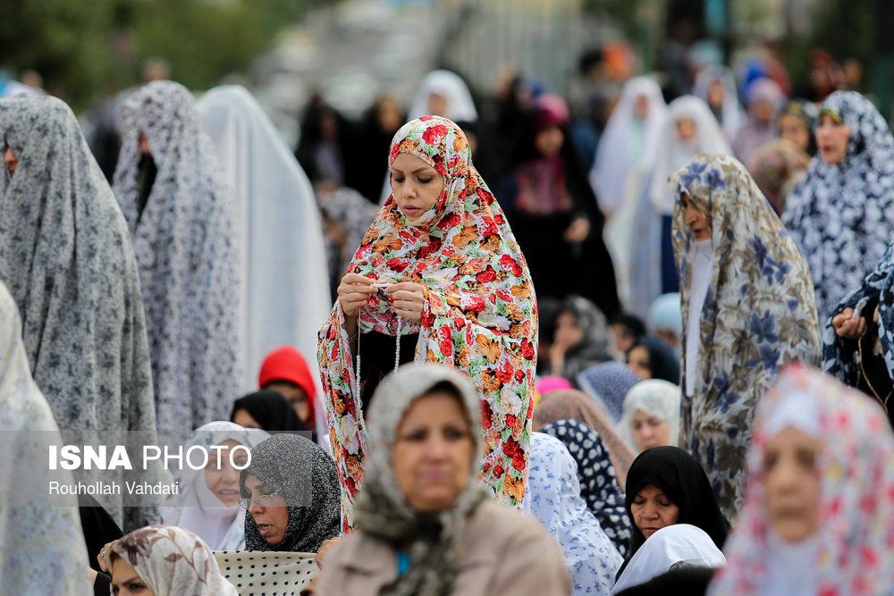 نماز عید فطر - سعادتآباد