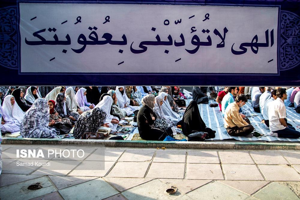 منتخب تصاویر نماز عید فطر - استانها