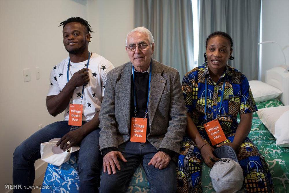 تیم پناهجویان در مسابقات المپیک