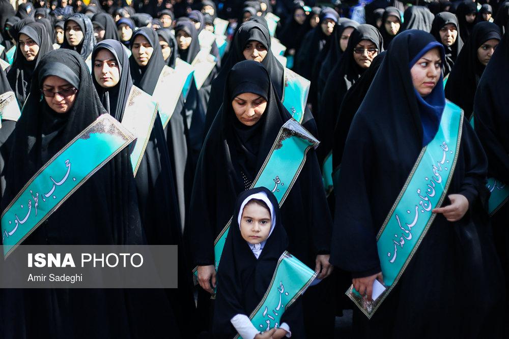 اجتماع مردم تبریز در دفاع از فرهنگ حجاب و عفاف
