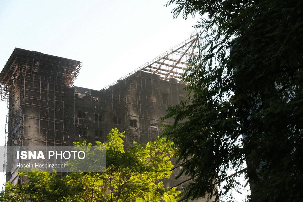 برج سلمان مشهد پس از یک شب پر حادثه