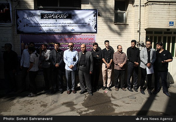 تشییع پیکر زندهیاد مهدی خوانساری خبرنگار خبرگزاری فارس