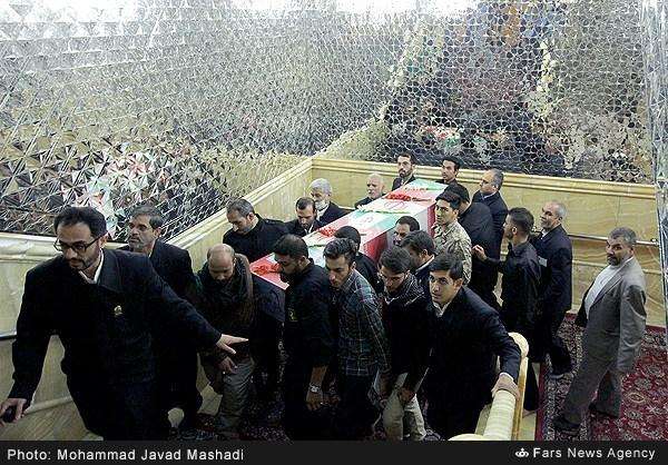 تشییع جنازه شهید رجب محمد زاده (بابا رجب)