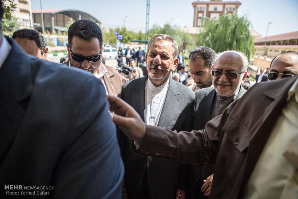 سفر معاون اول رئیس جمهور به قزوین