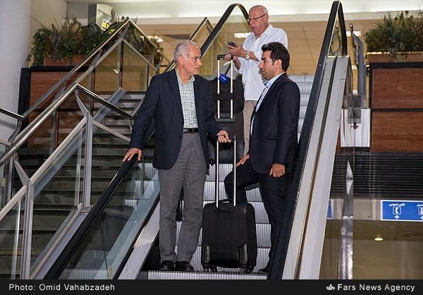 استقبال از تیم داوری ایران در المپیک